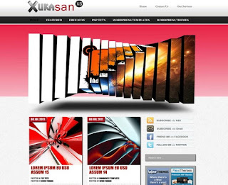 Xuka San WordPress Theme