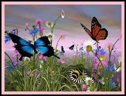 Hagamos una revolución que nuestro líder sea el sol y nuestro ejército sean mariposas...