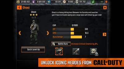 Call of Duty : Heroes 2.1.0 Mod Apk 2