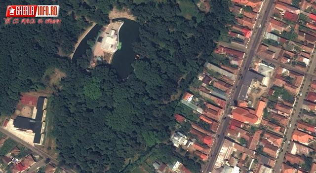 gherla satelit imagini cluj romania satelite view vedere