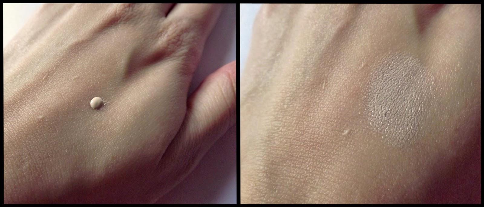 moistfull super collagen cc cream no 2 light beige swatch