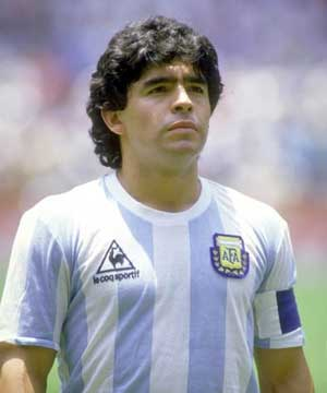 diego maradona playing style - photo #43
