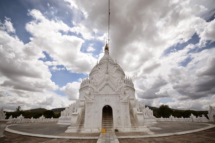 Birmanie, myanmar, voyage, photos de voyage, mingun, pagode