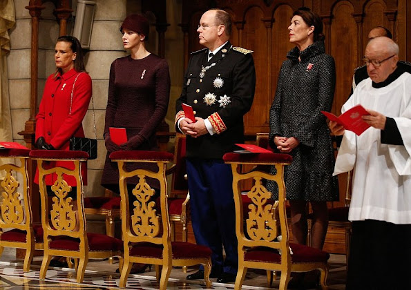 rince Albert II of Monaco and Princess Charlene of Monaco, Princess Caroline of Hanover, Princess Stephanie of Monaco, Beatrice Borromeo, Pierre Casiraghi, Charlotte Casiraghi and Alexandra of Hanover