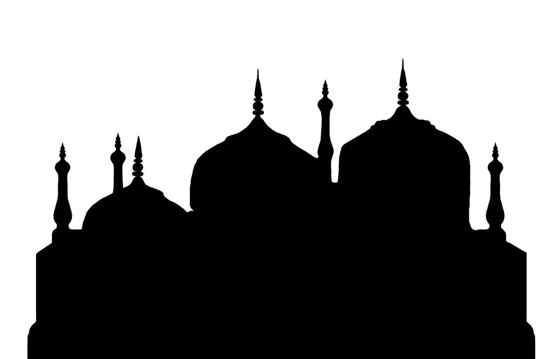 Mosque Silhouette Clip Art