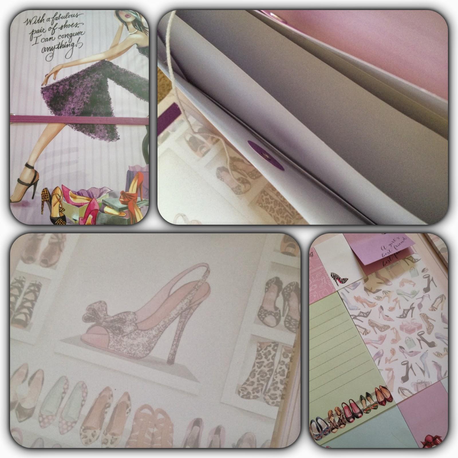 Bonnie Marcus Tri-Fold Note book