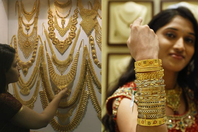 Kerala bride with gold hairstyles updates