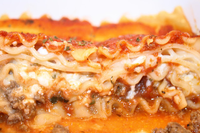 how to make lasagna with ground beef