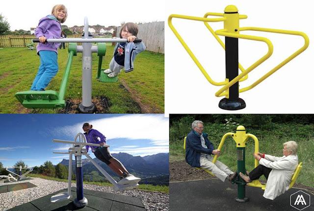 Fasilitas Outdoor Gym Banara Serpong