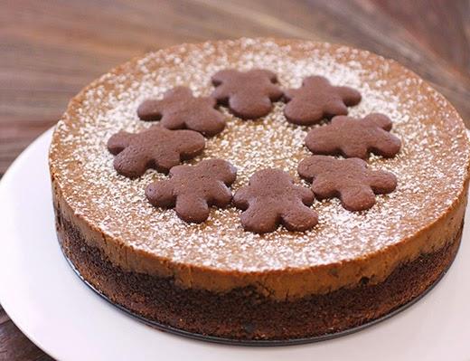 lisa is cooking: Gingerbread Cheesecake
