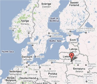 Lituana map