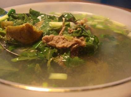 Cách nấu canh Thịt bò thuôn hành răm ngon
