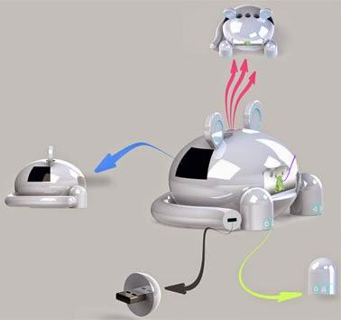 Держатель зубных щеток Toothpet