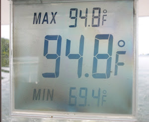 Typical day's temp. Is it this hot everywhere?