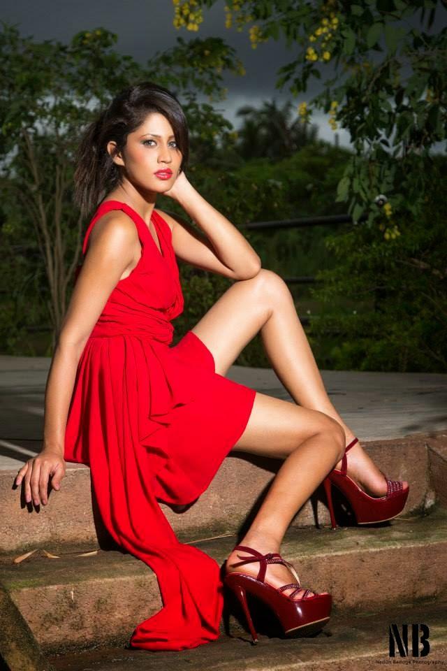 Oshadi Himasha red legs