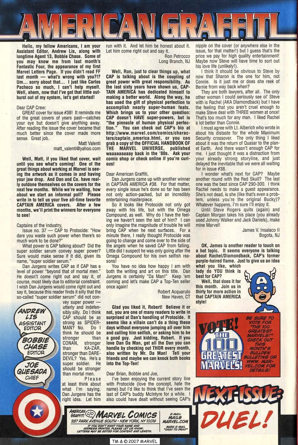 Captain America (1998) Issue #40 #47 - English 34