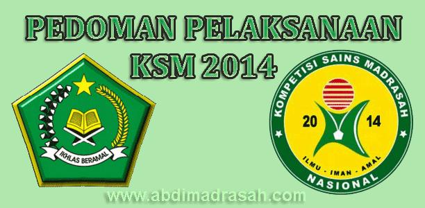 Download Pedoman Pelaksanaan Kompetisi Sains Madrasah Ksm Tahun 2014 Abdi Madrasah
