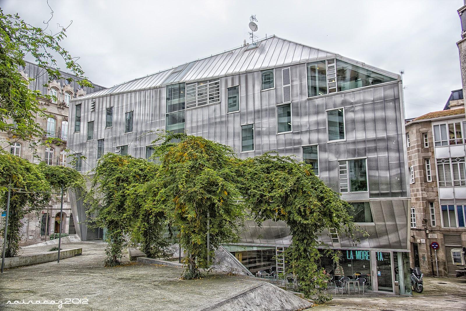 Vigo by sairacaz sede del colegio de arquitectos - Arquitectos vigo ...