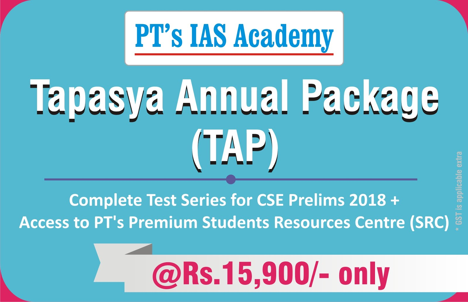 T A P - Tapasya Annual Package
