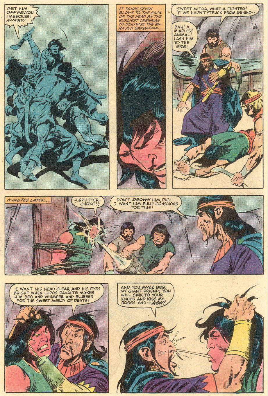 Conan the Barbarian (1970) Issue #140 #152 - English 6
