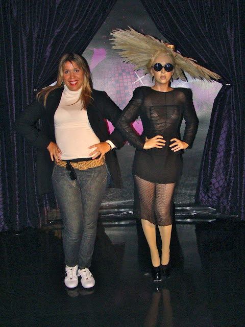 MADAME TUSSAUDS - LADY GAGA