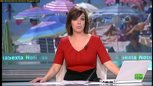 Cristina Villanueva marcando