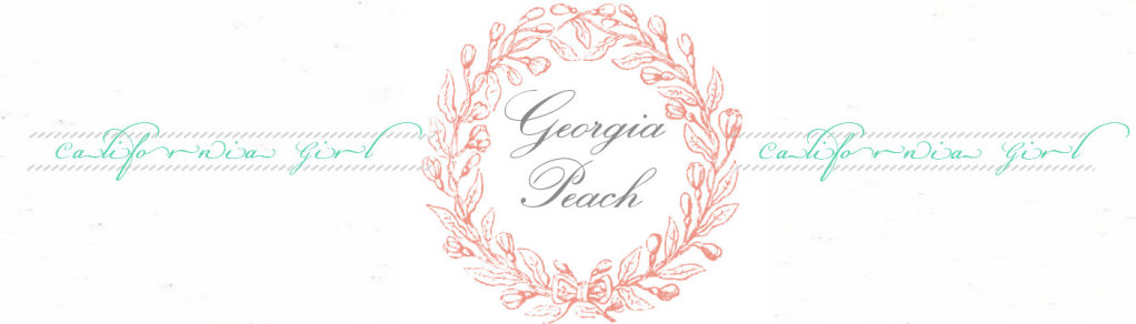 California Girl to Georgia Peach