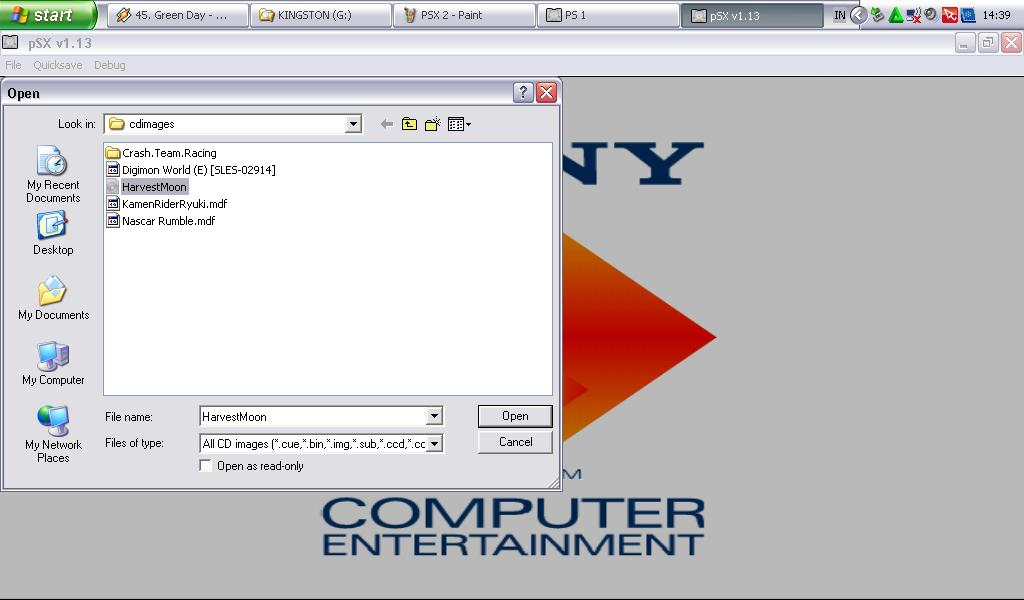 how to use psx emulator