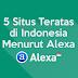 5 Situs Teratas di Indonesia Menurut Alexa