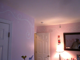 Townehouse interior painting - Borders