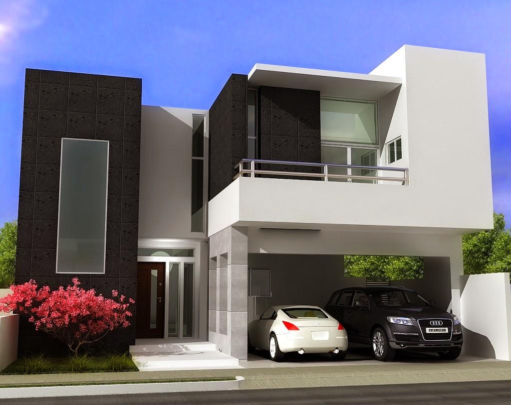 desain rumah tingkat minimalis cantik 2014