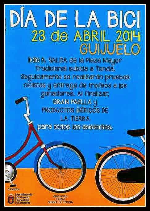 23/Abril: Día de la Bici. Guijuelo