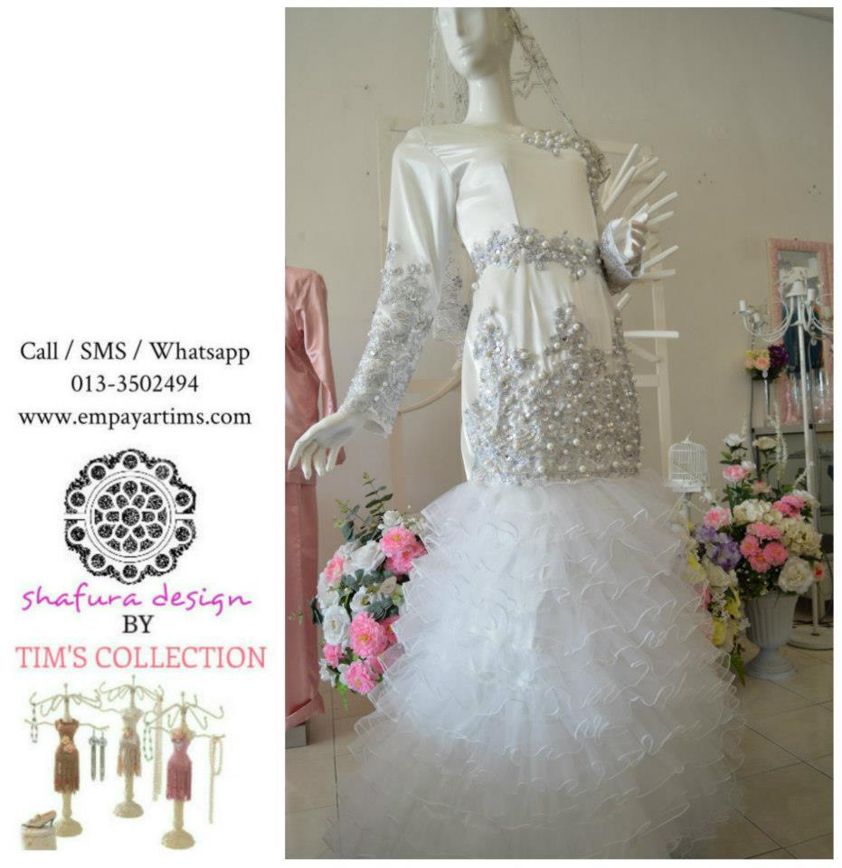 dan imaginasi yang tiggi untuk menghasilka baju2 pengantin yang cantik