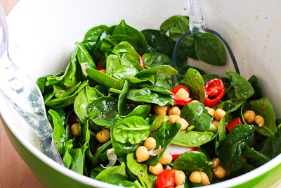 Spinach With Feta Dressing Recipes — Dishmaps