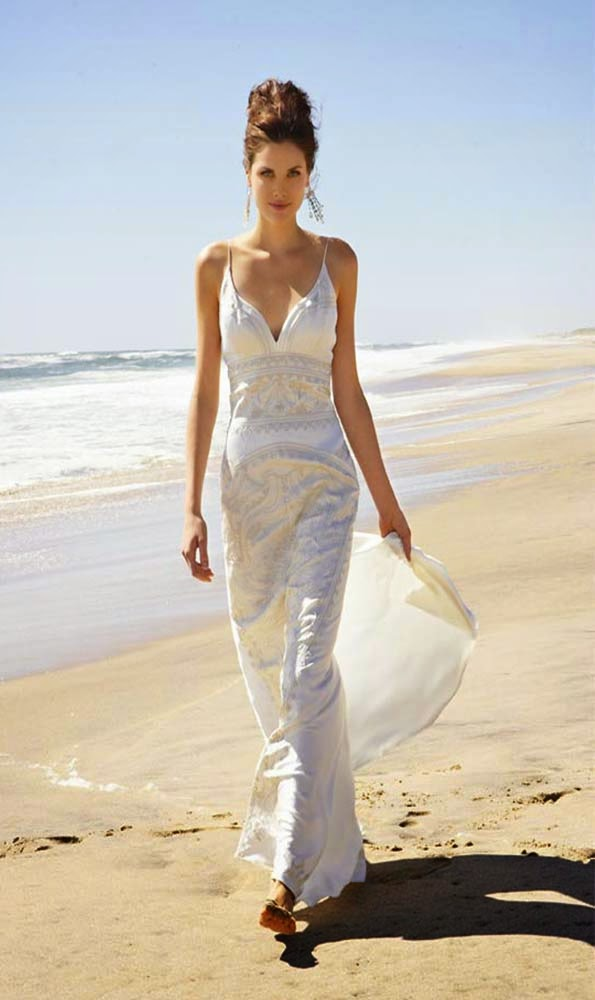 Casual informal wedding dresses beach style ideas for Wedding dresses casual beach