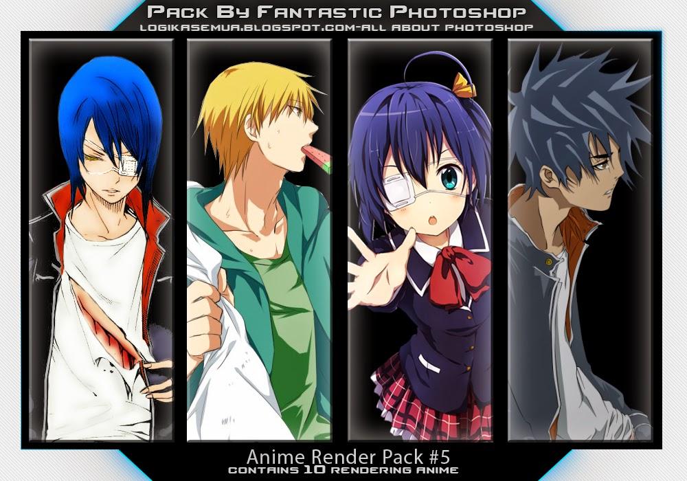 Anime Render Pack#5