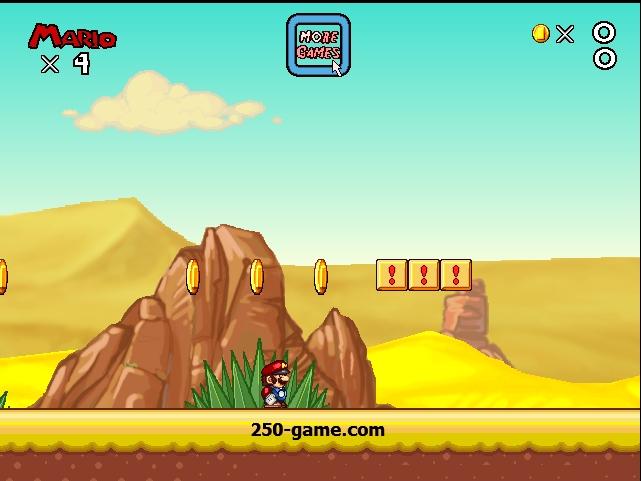 مغامرات ماريو في الصحراء