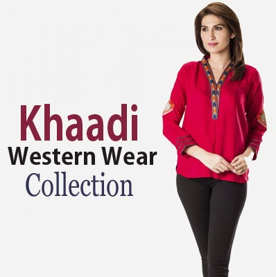 Khaadi Western Wear Collection 2015