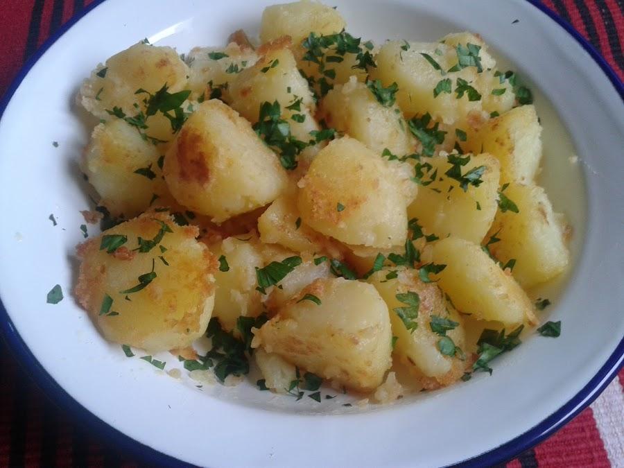 Patatas salteadas el estilo francés
