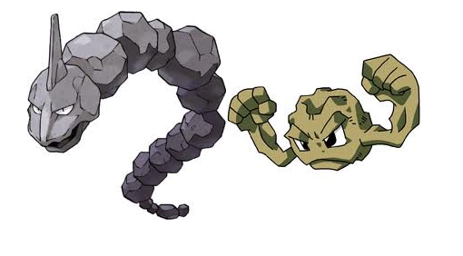 Image result for pokemon rock