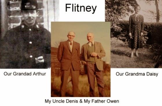 Arthur Denis Flitney, Denis Flitney, Owen Flitney, Daisy Flitney