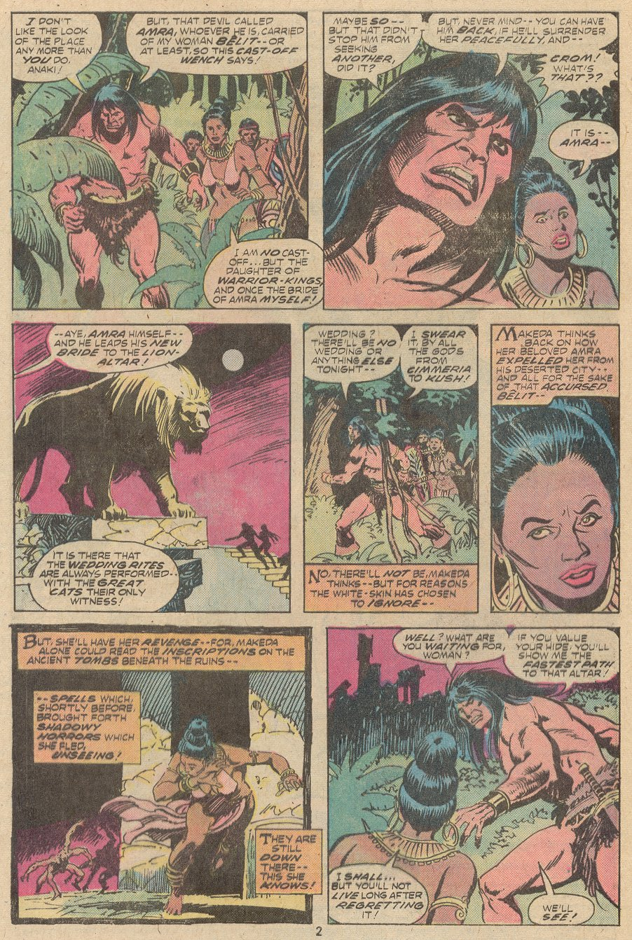 Conan the Barbarian (1970) Issue #63 #75 - English 3