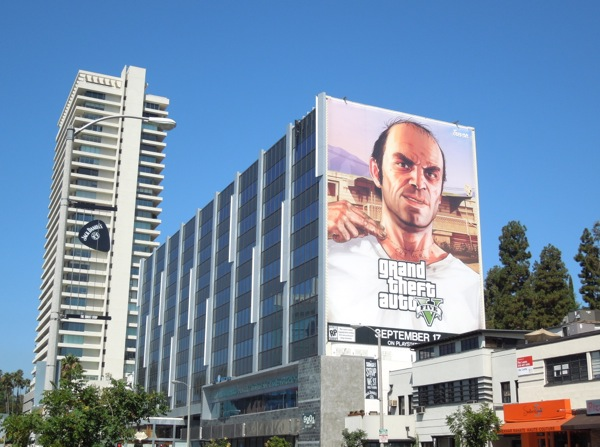 Grand Theft Auto 5 Trevor billboard