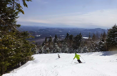 Skiing Hawkeye, Gore Mountain, Easter Sunday 04/05/2015.  The Saratoga Skier and Hiker, first-hand accounts of adventures in the Adirondacks and beyond, and Gore Mountain ski blog.