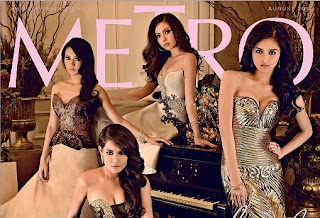 Metro Magazine August 2012 issue with Star Magic's 20 most beautiful stars