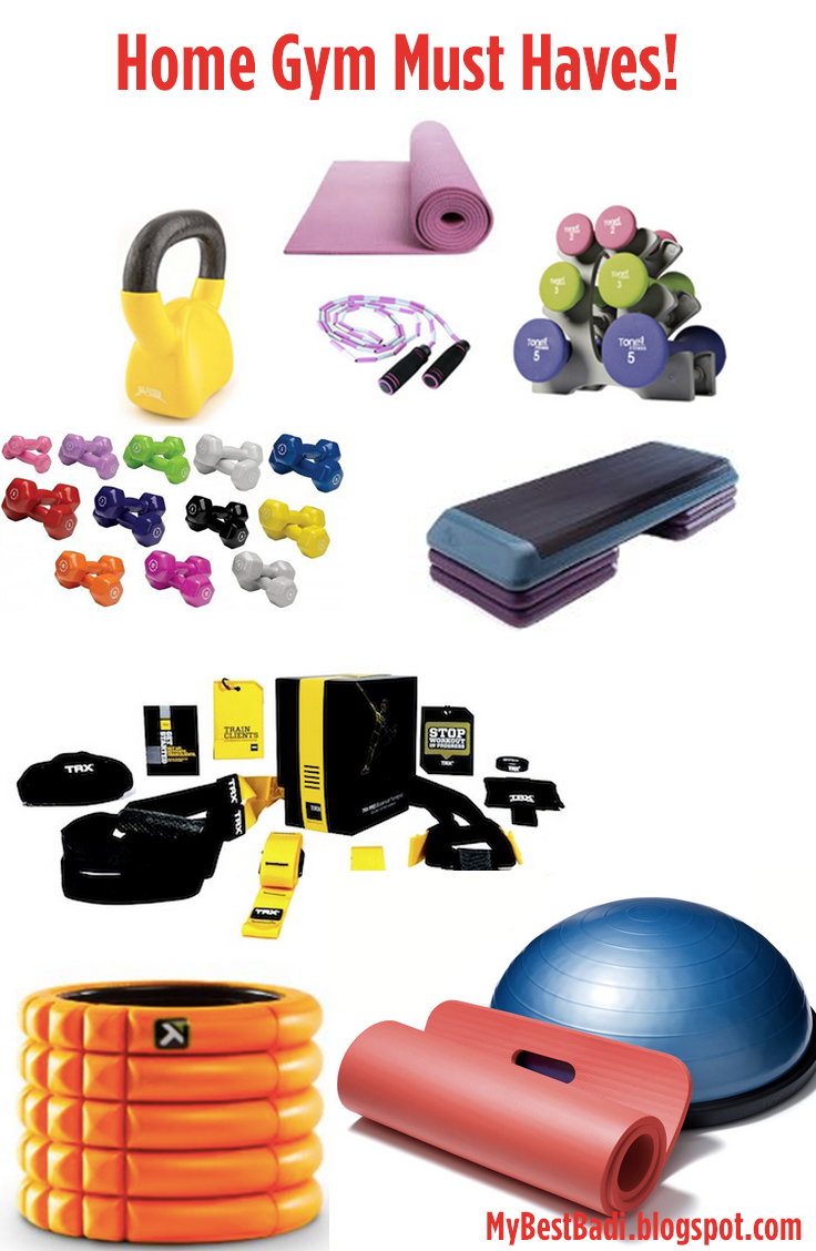 Must have essentials for building your home gym my best badi for Must haves when building a new home