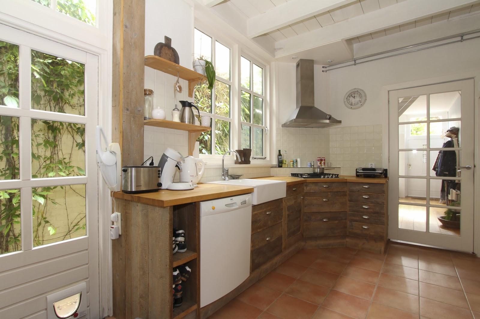 No 77 binnenkijker drie huisjes buitenwijkjes - Hoe dicht een open keuken ...