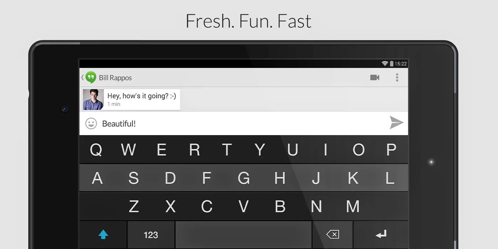 Fleksy Keyboard - Happy Typing v2.2