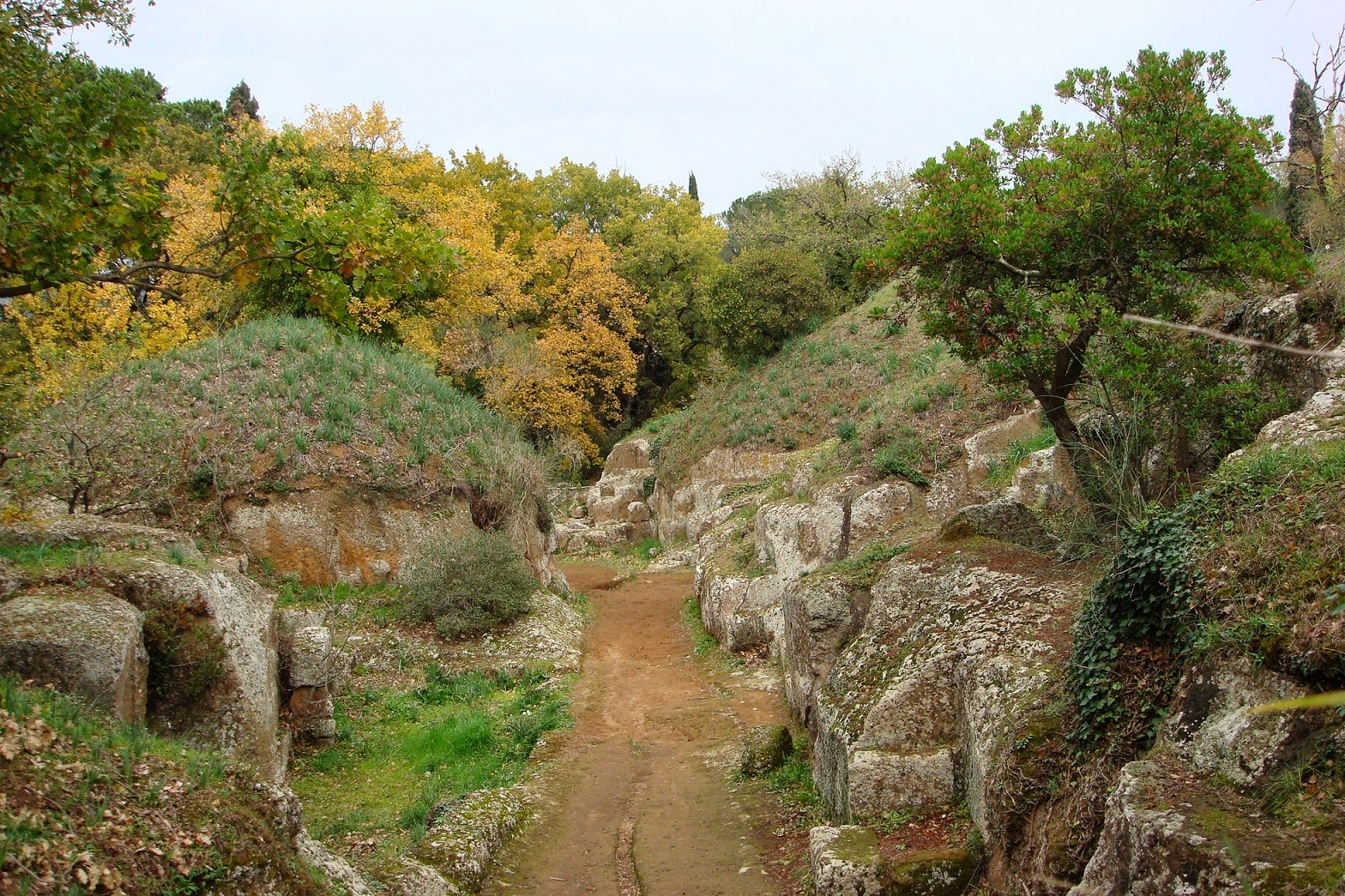 Cerveteri's Etruscan city of dead set to wow visitors