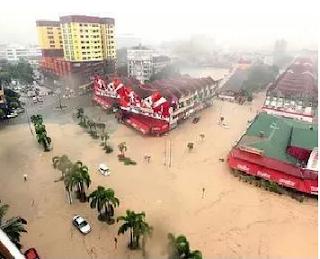 Banjir Di Pahang Dan Trengganu 2013